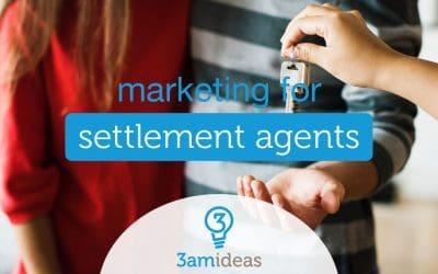 Marketing For Settlement Agents