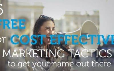 5 Cost Effective or Free Marketing Tactics